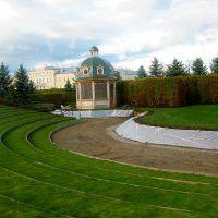 Rundāles pils zaļā teātra izveide
